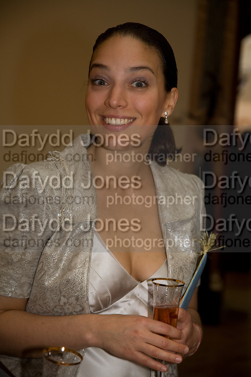 SELIN TAMTEKIN, The Summer Ball. Royal Academy. Picadilly. London. 16 June 2008. *** Local Caption *** -DO NOT ARCHIVE-© Copyright Photograph by Dafydd Jones. 248 Clapham Rd. London SW9 0PZ. Tel 0207 820 0771. www.dafjones.com.