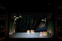 George Balanchine's Jewels, Royal Ballet, costumes by Jean Mrc Puissant