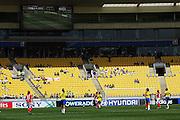 Westpac Stadium's 'clean' stadium.<br /> FIFA Women's Under-17 World Cup. Brazil v England at Westpac Stadium, Wellington. Thursday, 30 October 2008. Photo: Dave Lintott/PHOTOSPORT