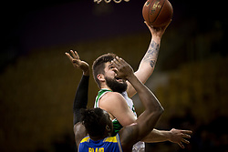 Ziga Dimec of KK Krka during basketball match between KK Krka and KK Sencur GGD in 1st Semifinal of Slovenian Spar Cup 2017/18, on February 16, 2018 in Sports hall Tivoli, Ljubljana, Slovenia. Photo by Urban Urbanc / Sportida
