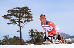 Poland's Kamil Rosiek competes in the Men's 7.5km, Sitting Cross Country Skiing at the Alpensia Biathlon Centre during day eight of the PyeongChang 2018 Winter Paralympics in South Korea