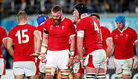 Rugby Union - 2019 Rugby World Cup - Bronze Final (Third Place Play-Off): Wales vs. France<br /> <br /> Welsh players react after the match at Tokyo Stadium, Tokyo.<br /> <br /> COLORSPORT/LYNNE CAMERON