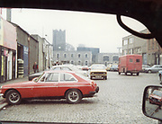 Old Dublin Amature Photos April 1984 WITH, <br /> Smithfield, Blackhall St, Kings Inns, Hill St, Temple St, Sallynoggin, R.C. Buckingham St, Chaplezord, Demolished Cottage Clonsilla, car, MG, FIAT, Commer Walk Through, opel kadet, ford escort mk1,
