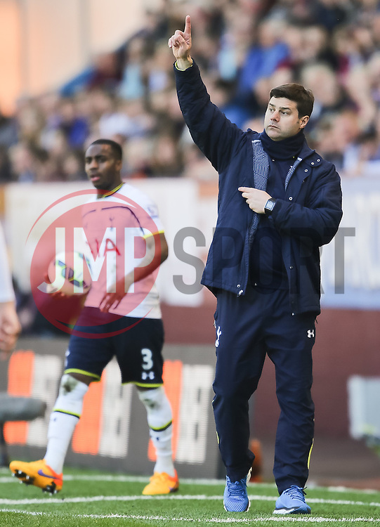 Tottenham Hotspur Manager Mauricio Pochettino - Photo mandatory by-line: Matt McNulty/JMP - Mobile: 07966 386802 - 05/04/2015 - SPORT - Football - Burnley - Turf Moor - Burnley v Tottenham Hotspur - Barclays Premier League