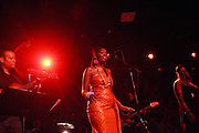 SOMI performs at The Album release for ' If the rains come first ' and performance by Somi held at Le Poisson Rogue on October 13, 2009 in New York City