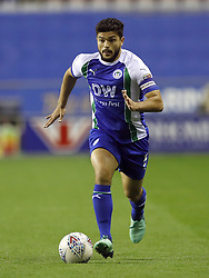 Wigan Athletic's Sam Morsy during the Sky Bet Championship match at the DW Stadium, Wigan