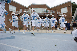 17 March 2007: North Carolina Tar Heels before a 9-7 Duke Blue Devils victory over the North Carolina Tar Heels at Fetzer Field in Chapel Hill, NC.
