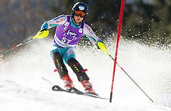 PALONIEMI Santeriof Finland competes during 1st Run of Men's Slalom - Pokal Vitranc 2012 of FIS Alpine Ski World Cup 2011/2012, on March 11, 2012 in Vitranc, Kranjska Gora, Slovenia.  (Photo By Vid Ponikvar / Sportida.com)