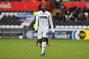 Leroy Fer (8) of Swansea City during the EFL Sky Bet Championship match between Swansea City and Reading at the Liberty Stadium, Swansea, Wales on 27 October 2018.