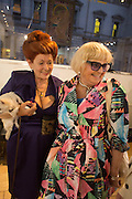 LADY SANDRA BATES; JEAN PICTON, Lady  Sandra Bates and Jason Bradbury host 'Lust' a mixed exhibition. La Galleria. Pall Mall.  London 3 September 2013.