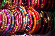 Colourful bangles for sale in Pushkar, Rajasthan, India