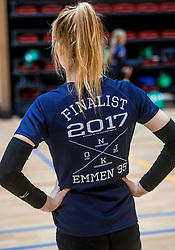 18-03-2017 NED:  Finale NOJK B finalisten, Doetinchem<br /> De B-teams waren de finaledag actief in Doetinchem, waar zij in het Topsportcentrum sportief zullen uitvechten wie zich het komende jaar Nederlands kampioen mag gaan noemen / Emmen, NOJK t shirt
