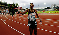 Friidrett , 9. juni 2016 , Diamond League , Bislett Games<br /> Athletics , <br /> Hagos Gebrhiwet , ETH 5000 m