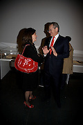 Sophie Ruddock and Robert Waley-Cohen, Opening of Blood on Paper: the art of the Book. V & A. Museum. London. 14 April 2008. Afterwards there was a dinner hosted by Lady Foster.  *** Local Caption *** -DO NOT ARCHIVE-© Copyright Photograph by Dafydd Jones. 248 Clapham Rd. London SW9 0PZ. Tel 0207 820 0771. www.dafjones.com.