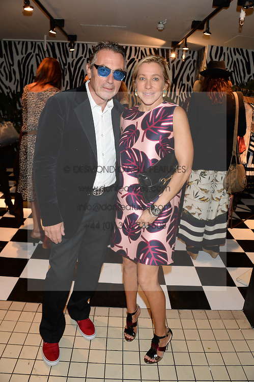 MAIA NORMAN and TIM SPICER at the Mother Of Pearl, Polly Morgan & Sunday Times Style Hosted London Fashion Week Pop-Up Shop at The Shop at Bluebird, Kings Road, London on 12th September 2013.