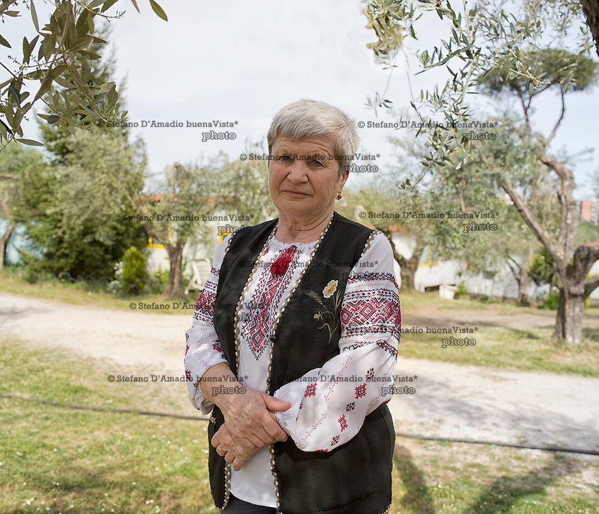 Madre di un figlio caduto del battaglione Dnipro1. Dopo 20 anni &egrave; ritornata in Italia per presentare il documentario -Ilovaisk i cavalieri del cielo- storie degli eroi volontari caduti del battaglione Dnipro1.<br />