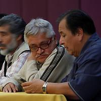 TOLUCA, México.- Víctor Manuel Bautista, Diputado Local durante la reunión de militantes de diversas corrientes del Partido de la Revolución Democrática y del Partido Convergencia, provenientes de los 125 municipios mexiquenses en donde se firmo un documento que integra diez compromisos que asumirán para lograr una alianza bajo objetivos bien planeados, aplicándolo al interior del perredismo mexiquense. Agencia MVT / Crisanta Espinosa. (DIGITAL)