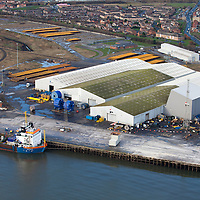 Subsea cable manufacture for offshore projects at JDR Cables , Hartlepool. Windfarm renewables and offshore Oil & Gas