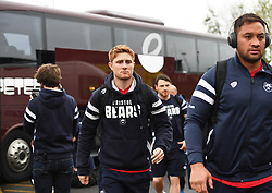 Nic Stirzaker of Bristol Bears arrive at Kingston Park - Mandatory by-line: Richard Lee/JMP - 18/05/2019 - RUGBY - Kingston Park Stadium - Newcastle upon Tyne, England - Newcastle Falcons v Bristol Bears - Gallagher Premiership Rugby