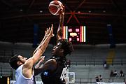 Nicola Akele<br /> Germani Basket Brescia - Vanoli Cremona<br /> Basket Precampionato Serie A LBA 2019/2020<br /> Desio 15 September 2019<br /> Foto Mattia Ozbot / Ciamillo-Castoria