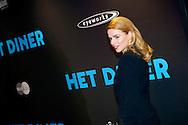 AMSTERDAM - In Pathé Tuschinski is de Nederlandse film 'Het Diner' in premiere gegaan. Met hier op de foto  Thekla Reuten. FOTO LEVIN DEN BOER - PERSFOTO.NU