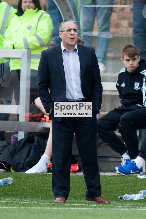 Ayr manager Ian McCall in the Forfar Athletic v Ayr United Station Park, Forfar, 17 October 2015<br />(c) Russell G Sneddon / SportPix.org.uk