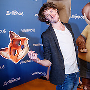 NLD/Amsterdam/20160213 - Premiere Zootropolis, Nick Golterman