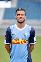 07.07.2015, Rewirpower Stadion, Bochum, GER, 2. FBL, VfL Bochum, Fototermin, im Bild Marco Terrazzino (Bochum) // during the official Team and Portrait Photoshoot of German 2nd Bundesliga Club VfL Bochum at the Rewirpower Stadion in Bochum, Germany on 2015/07/07. EXPA Pictures &copy; 2015, PhotoCredit: EXPA/ Eibner-Pressefoto/ Hommes<br /> <br /> *****ATTENTION - OUT of GER*****