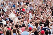 Citta' del Vaticano 16/09/2015, udienza generale del mercoledì'. Nella foto papa Francesco