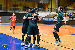 Team Italy during futsal friendly match between National teams of Slovenia and Italy, on December 3, 2019 in Maribor, Slovenia. Photo by Milos Vujinovic / Sportida