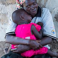 Fistula survivor near Soroti, Uganda