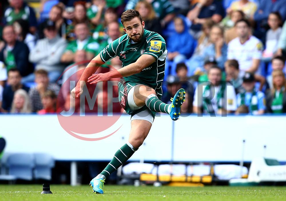 James Marshall of London Irish - Mandatory by-line: Robbie Stephenson/JMP - 24/09/2017 - RUGBY - Madejski Stadium - Reading, England - London Irish v Northampton Saints - Aviva Premiership