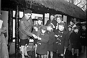 1966 - Raisins distributed to Scouts at Dublin Zoo