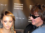 Ava Sambora and Richie Sambora..Los Angeles Fashion Week Spring/Summer 2011- WTB Collection..White Trash Beautiful Fashion Show by Richie Sambora and Nikki Lund.