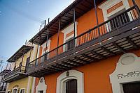 Calle Cristo Spanish colonial architecture