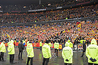 Joie supporters Lens - 07.12.2014 - Lens / Lille - 17eme journee de Ligue 1<br />
