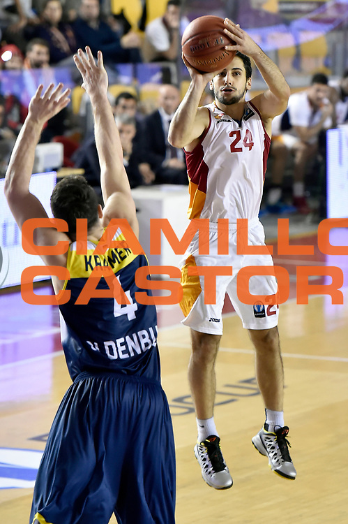 DESCRIZIONE : Eurocup 2014/15 Acea Roma Ewe Basket Oldenburg<br /> GIOCATORE : Rok Stipcevic<br /> CATEGORIA : tiro three points<br /> SQUADRA : Acea Roma<br /> EVENTO : Eurocup 2014/15<br /> GARA : Acea Roma Ewe Basket Oldenburg<br /> DATA : 12/11/2014<br /> SPORT : Pallacanestro <br /> AUTORE : Agenzia Ciamillo-Castoria /GiulioCiamillo<br /> Galleria : Acea Roma Ewe Basket Oldenburg<br /> Fotonotizia : Eurocup 2014/15 Acea Roma Ewe Basket Oldenburg<br /> Predefinita :