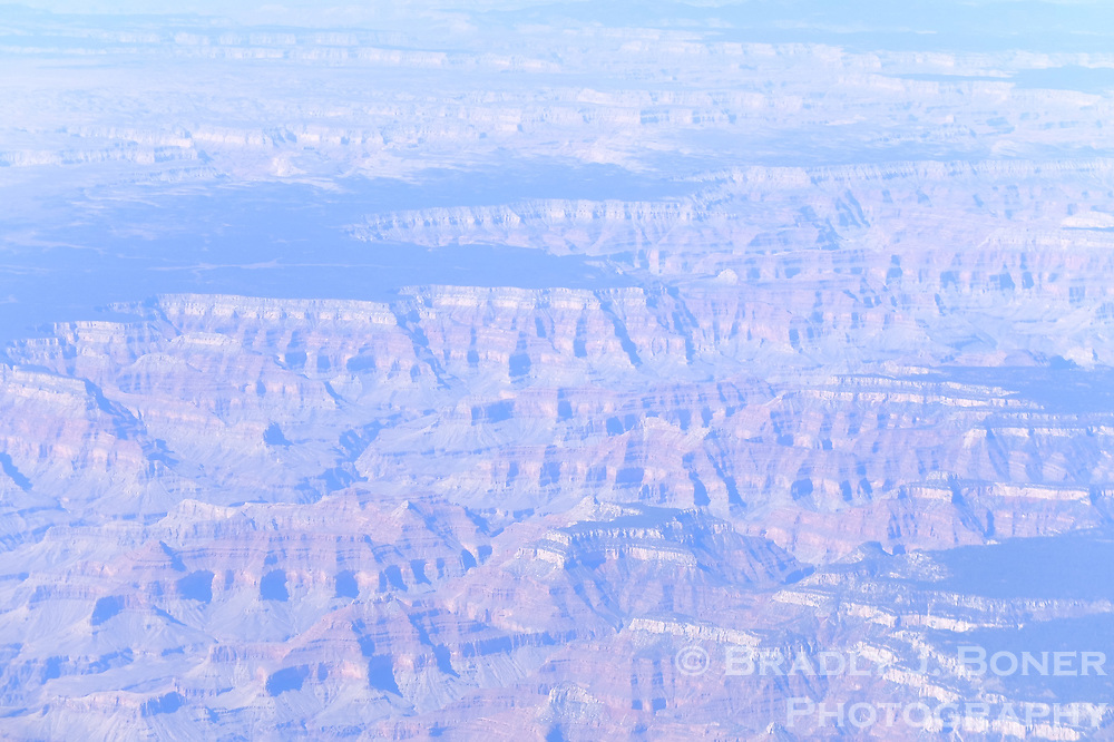 Aerial of the Grand Canyon