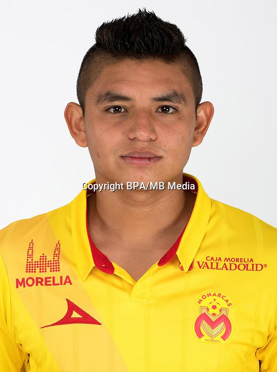 Mexico League - BBVA Bancomer MX 2016-2017 / <br /> La Monarquia - Club Atletico Monarcas Morelia - Mexico / <br /> Miguel Angel Sansores Sanchez