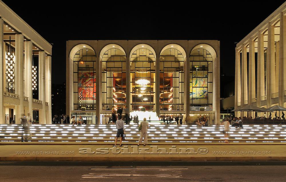 Lincoln Center, Metrolpolitan Opera House, NYC
