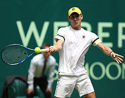 June 21, 2018 - Halle, Allemagne - Australian player Matthew Ebden (AUS) pictured during his match against German Philipp Kohlschreiber in Halle at Gerry Weber open 2018 (Credit Image: © Panoramic via ZUMA Press)