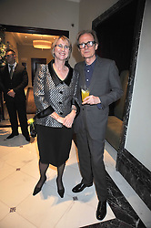BILL NIGHY and KATIE BENSON at a party to celebrate the relaunch of the Langham Hotel, Portland Place, London on June 10th 2009.