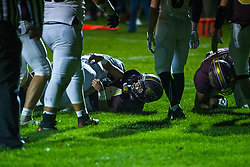 18 October 2019: Heyworth Hornets at LeRoy Panthers boys HOIC (Heart of Illinois Conference) football, Le Roy Illinois