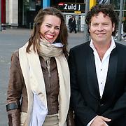 NLD/Amsterdam/20130601- Amsterdam diner 2013, Dirk Zeelenberg en partner Suus