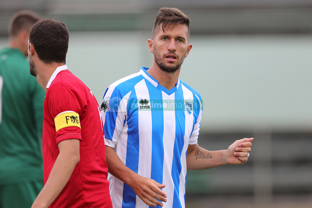 July 25, 2017 - Avezzano, AQ, Italy - Stefano Pettinari of Pescara Calcio 1936 during the Pre-Season 2017/2018 Friendly Match Pescara Calcio 1936 v Teramo Calcio 1913, at Dei Marsi Stadium on July 25, 2017 in Avezzano, Italy  (Credit Image: © Danilo Di Giovanni/NurPhoto via ZUMA Press)