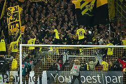 26.11.2011, Signal Iduna Park, Dortmund, GER, 1. FBL, Borussia Dortmund vs FC Schalke 04, im Bild Jubel Jubel Dortmund ueber Sieg und Tabellenfuehrung // during Borussia Dortmund vs. FC Schalke 04 at Signal Iduna Park, Dortmund, GER, 2011-11-26. EXPA Pictures © 2011, PhotoCredit: EXPA/ nph/ Kurth..***** ATTENTION - OUT OF GER, CRO *****