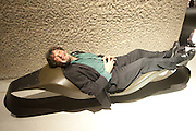 JEAN BERNARD, Ron Arad; Restless. Cocktail reception hosted by Kate Bush of the Barbican and Tony Chambers of Wallpaper magazine. Barbican art Gallery. London. 17 September 2010