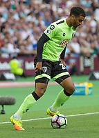 Football - 2016 / 2017 Premier League - West Ham United vs. AFC Bournemouth<br /> <br /> Bournemouth's Lewis Grabban at The London Stadium.<br /> <br /> COLORSPORT/DANIEL BEARHAM