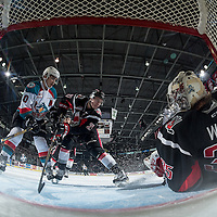 011817 Moose Jaw Warriors at Kelowna Rockets