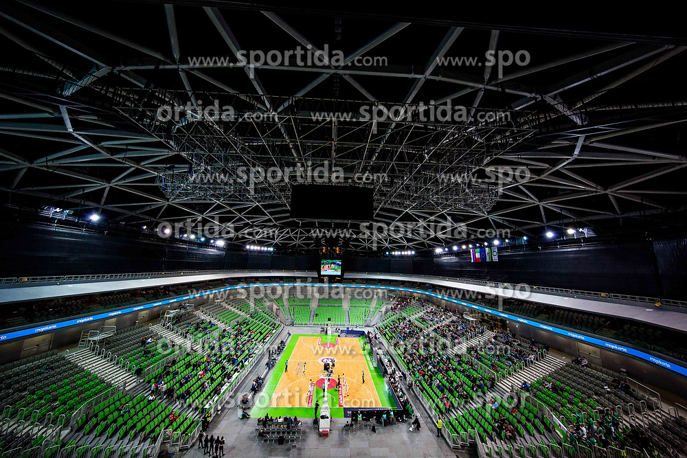 Arena during basketball match between KK Petrol Olimpija Ljubljana and Umana Reyer Venezia (ITA) in Round #5 of FIBA Basketball Champions League 2017/18, on November 7, 2017 in Arena Stozice, Ljubljana, Slovenia. Photo by Vid Ponikvar / Sportida